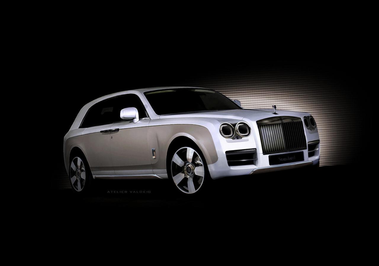 внедорожник Rolls-Royce