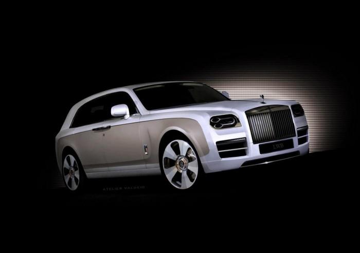 внедорожник Rolls Royce
